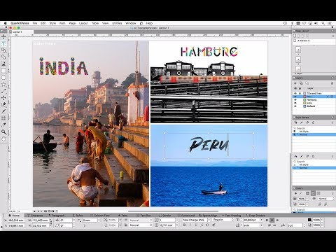 QuarkXPress 2018 – See the major features in detail (39 minutes)