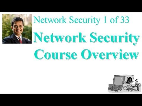 CSE571-11-00: Network Security Course Overview