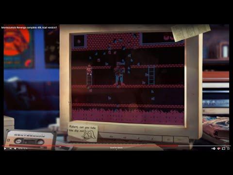 "Montezuma's Revenge 48k Atari version ""Director's Cut"" teaser.."