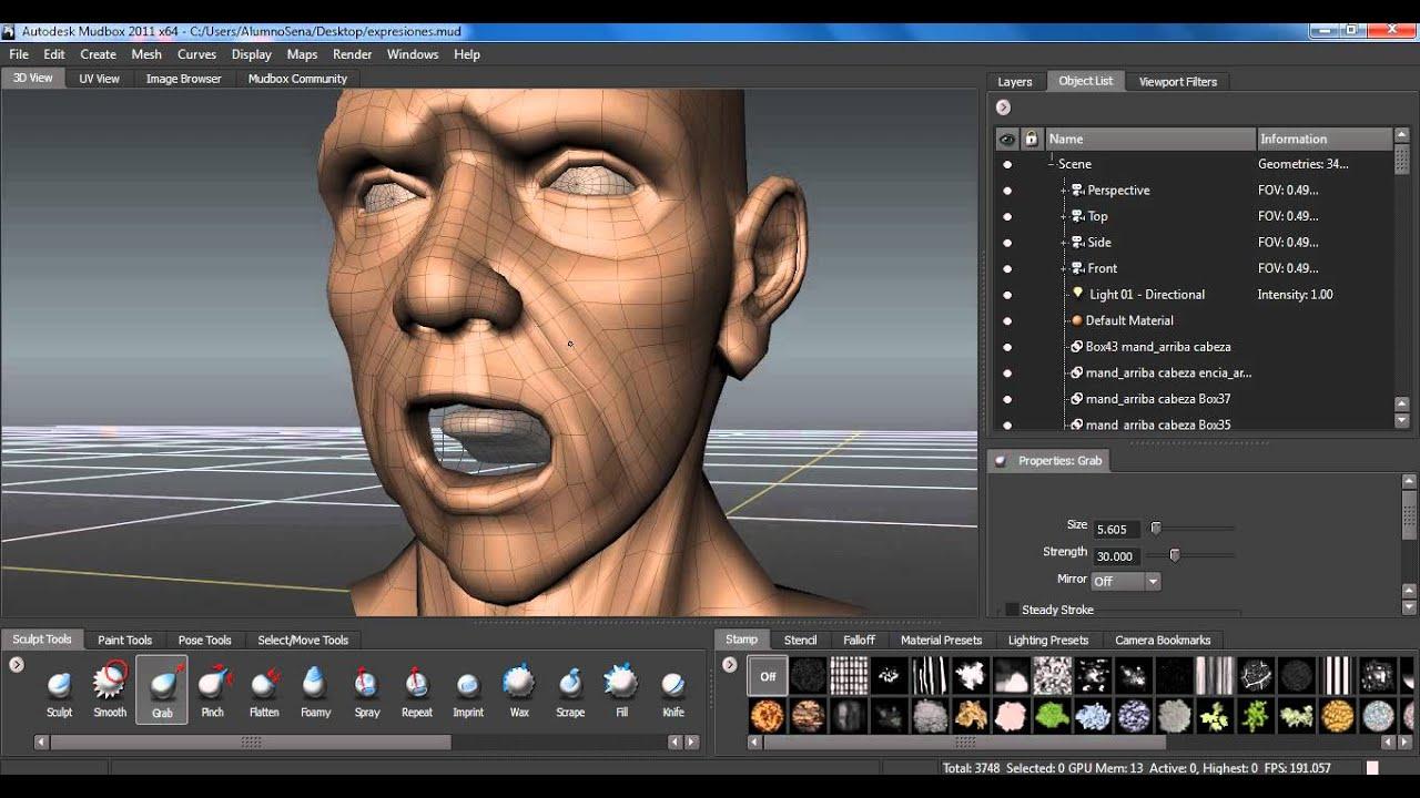 Maya Facial Rig 40