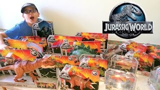 Jurassic World toys! Dinosaurs, Action Figures, Vehicles! - Leonardo D