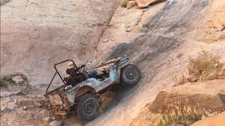 A Couple Willys & Some Friends on Yellow Hill - Pritchett Canyon Moab