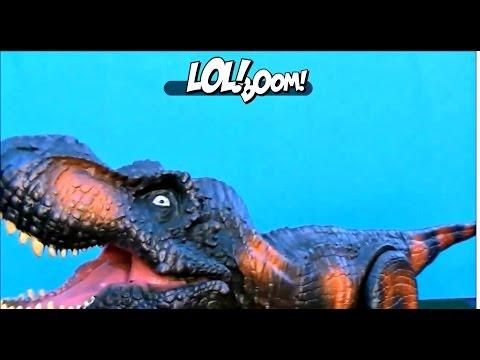 Puppet T Rex Toy Review! Tyrannosaurus Rex Dinosaur Puppet For Kids!