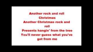 Another Rock & Roll Christmas~Iron Maiden~Lyrics