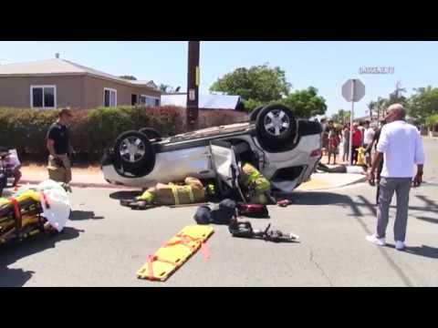 San Diego: Hit & Run Crash 08312018