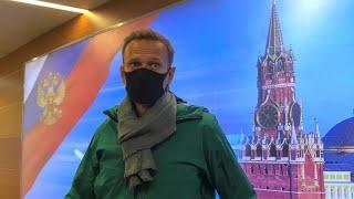 AlexeïNavalny rentre en Russie malgré les menaces d'arrestation