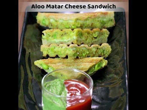 Aloo Matar Cheese Sandwich