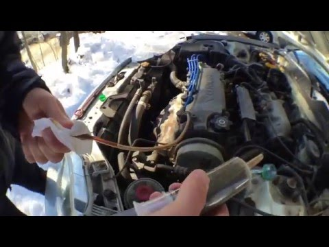 EASY How To Remove Overfilled Engine Oil