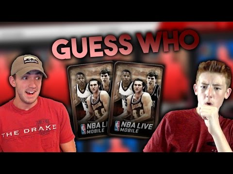95+ CAMPUS LEGEND GUESS WHO VS YOURFIRED!! NBA Live Mobile