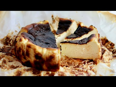 recette-du-cheesecake-basque-brûlé-|-william's-kitchen