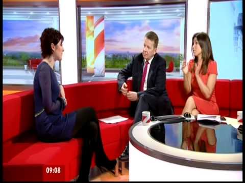 Connie Fisher on BBC Breakfast 10/04/12