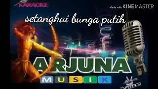 Download Setangkai bunga putih Panbers karaoke tanpa vokal versi Arjuna musik