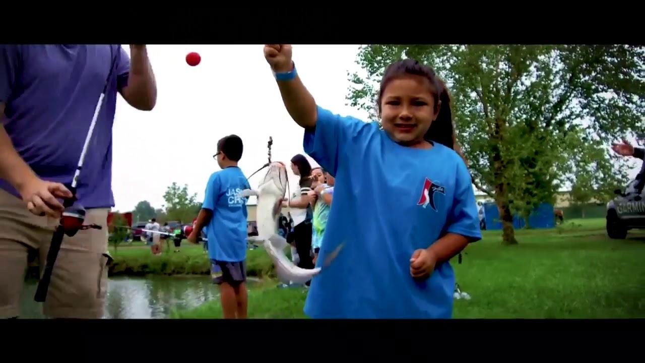 Jason Christie Kid's Fishing Day 2019 - Cherokee Nation