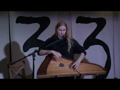 Гусли - Ольга Глазова - целый концерт в мансарде 4`33` / Gusli Olga Glazova