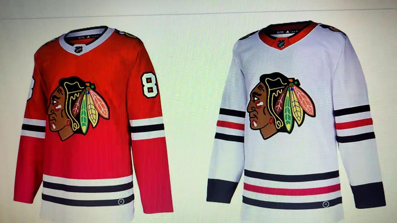 blackhawks away jersey color
