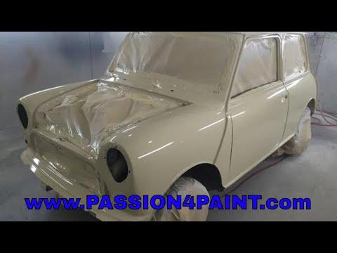 Classic Mini Repaint / Respray And Iwata W400 vs W400 Bellaria Comparison