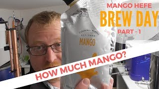 Mango Hefeweizen Brew Day Part 1