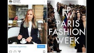 3 NAPOS TUDÓSÍTÁS: Paris Fashion Week 2017 | AvianaRahl