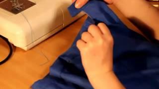 урок 5: пошив юбки-карандаш, обработка пояса