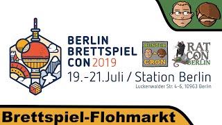 Brettspiel-Flohmarkt - Berlin Brettspiel Con 2019