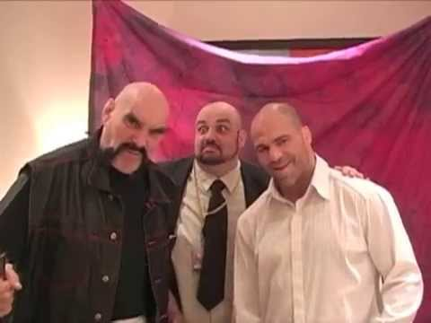 Ox Baker & Kurt Angle
