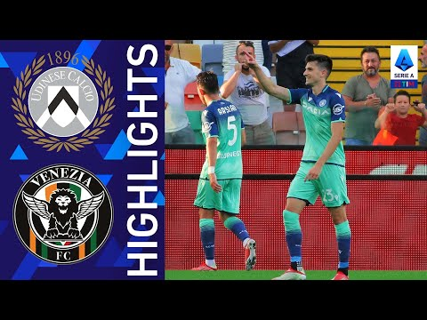 Udinese 3-0 Venezia | L'Udinese allunga la propria striscia positiva | Serie A TIM 2021/22