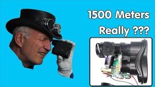 1500 Meter Rangefinder Test and Tear-Down