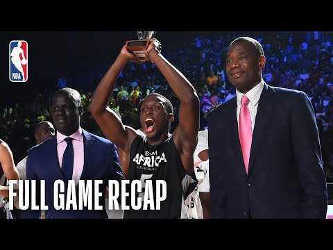 Full Highlights: Team World vs Team Africa, NBA Africa Game 2017