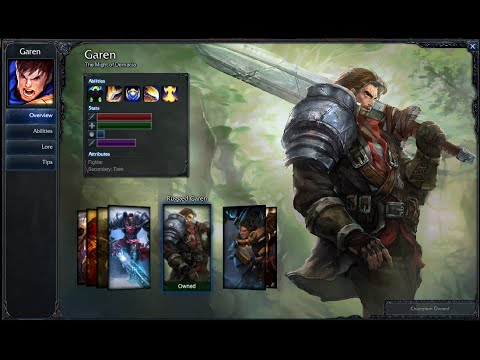 Rugged Garen Skin Spotlight Play 1080p Hd
