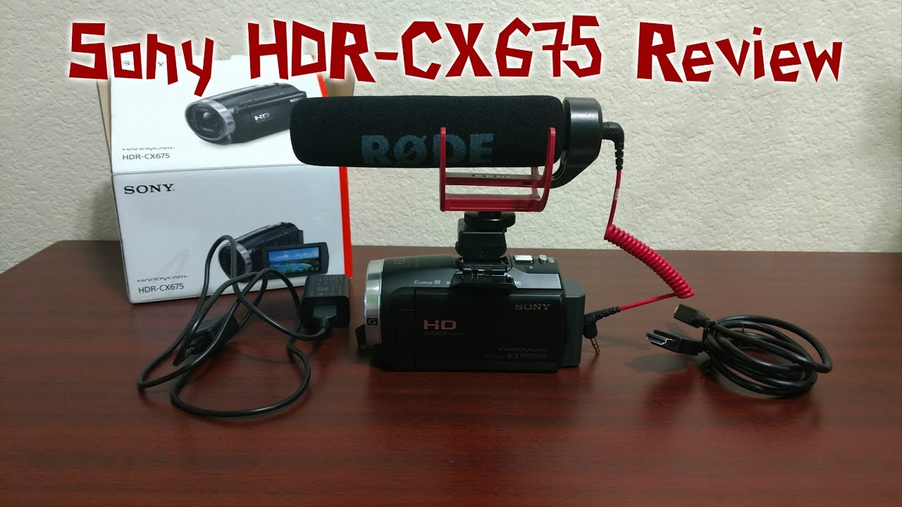 Sony CCD-TRV315 Camcorder External Microphone