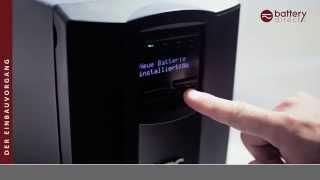 Akku passend für APC Smart UPS ersetzt APC RBC55, RBC11 Akku