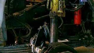 King Pin Removal on a 20,000 lb Steering Axle