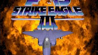F-15 Strike Eagle III - Video Game Slideshow Demo - MS-DOS, 1992