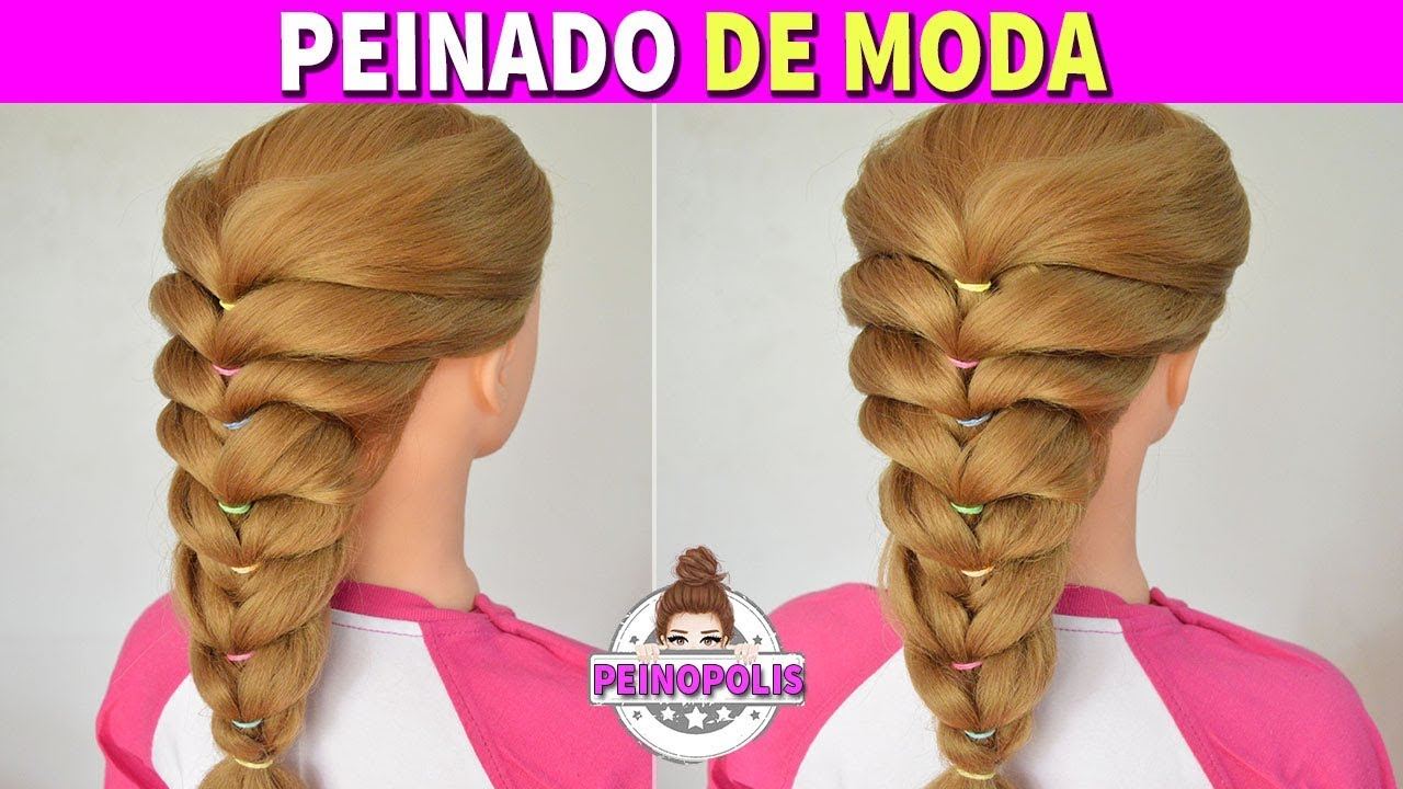 Peinados faciles y rapidos para ni as recogidos con - Peinados fiesta faciles ...