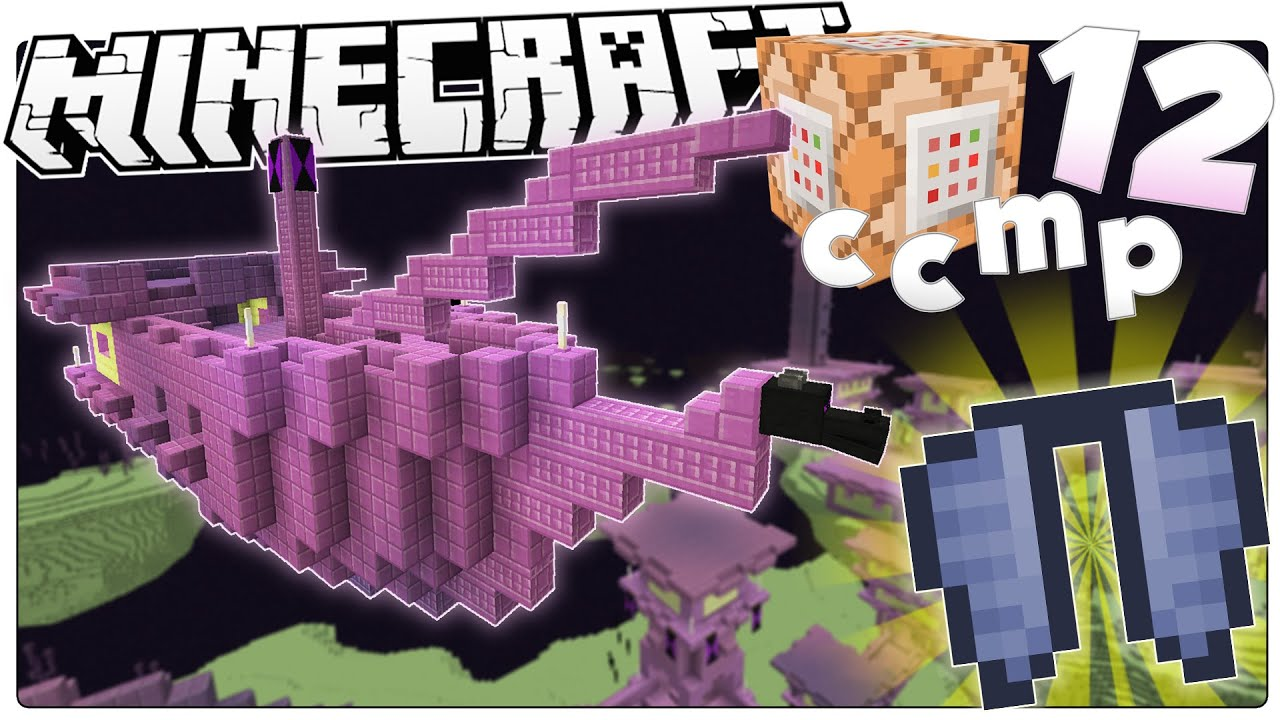 Minecraft 1 9 New Snapshot Loot End City Dungeons Custom Command Mod Pack 12 Youtube