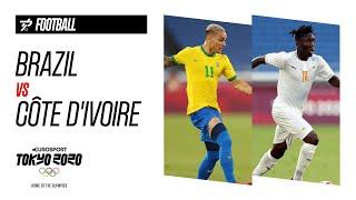BRAZIL vs CÔTE D'IVOIRE | Football Men's - Highlights