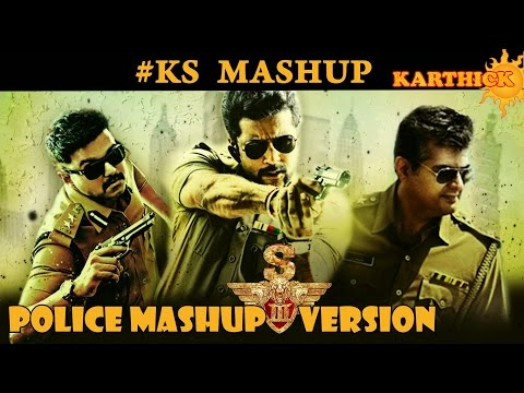 23JULY 2017 SURIYA HAPPY BIRTHDAY | S3 versn-POLICE MASHUP|#KS MASHUP 2017HD| by karthick suriyan