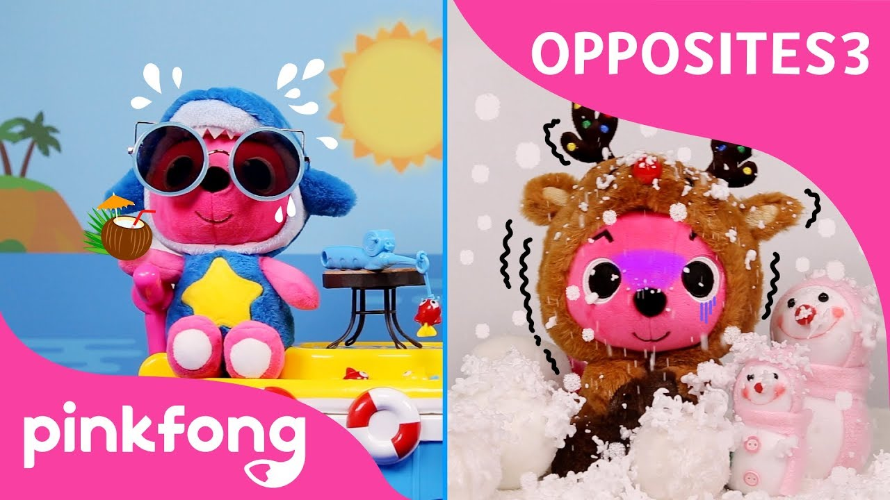 Opposites with Pinkfong | Toy Show | Toy and Songs | Pinkfong Toy Show for Children