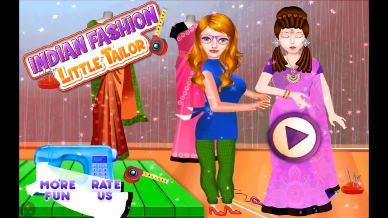 Makeup Games for Girls| Make Beautiful Dress For Indian Barbie| Best ...
