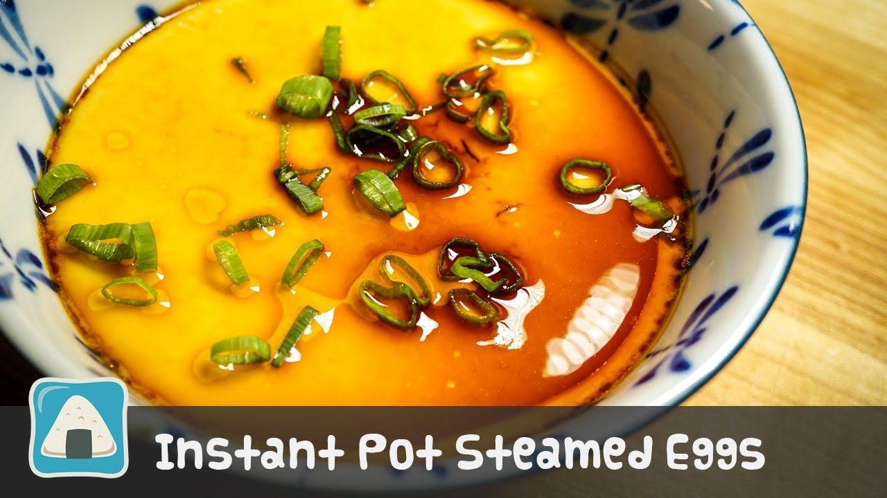 Chinese Savory Steamed Egg Pressure Cooker Or Steamer Ice Or Rice