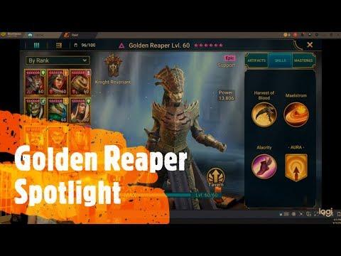 Raid Shadow Legends Golden Reaper Spotlight