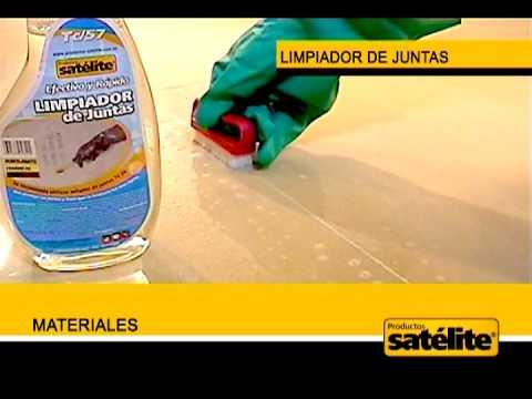 limpiador de juntas productos sat lite youtube