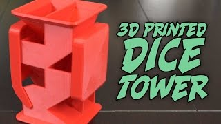 3D Printing the perfect dice tower?