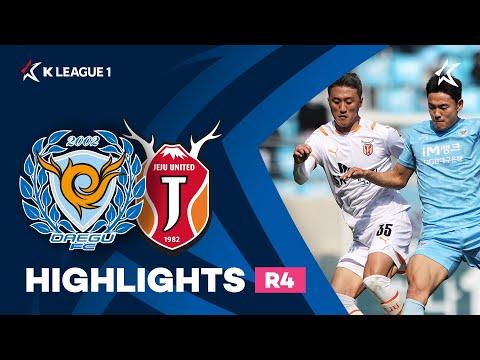 Daegu Jeju Utd Goals And Highlights