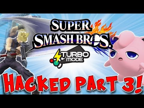 Turbo Mode - Super Fast Fighting! Smash for Wii U Hacked Part 3!!