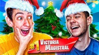 VICTORIA com as novas peles de Natal! GREFG e VICENS-Fortnite