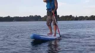 Fanatic Ray Air 12 6 Test Karlsruhe Goldkanal SUP Stand up Paddling