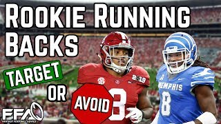 Rookie Running Backs to Target or Avoid - 2019 Fantasy Football