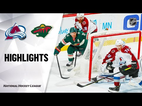 nhl-highlights-|-avalanche-@-wild-02/09/20