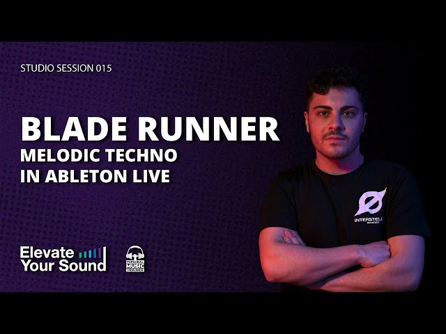 BLADE RUNNER STYLE TRACK [STUDIO SESSION 014] [MELODIC TECHNO]